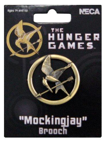 NECA The Hunger Games Replik 1/1 Mockingjay Brosche (Buch-Version)
