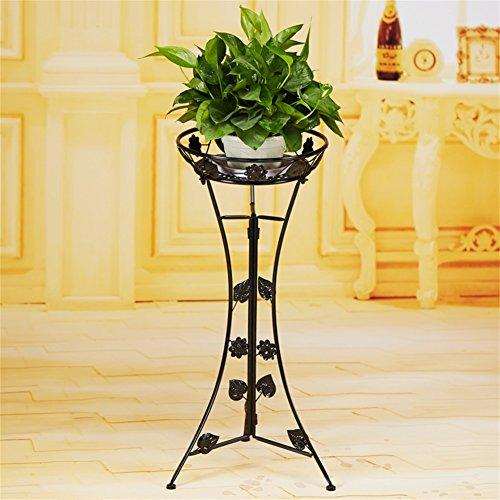 Support élégant et élégant de fleur de fer, petit présentoir de fleur de plante de fleur de fleur pour le bureau de rebord de balcon