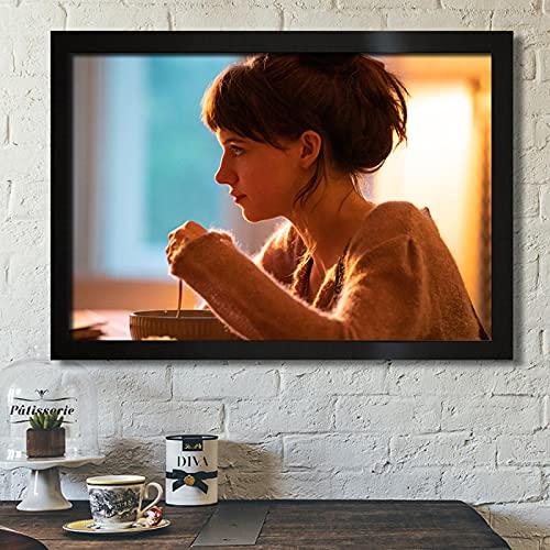 Weijiajia Serie de televisión clásica Imagen de Personas Normales Póster de Personas Normales Pintura en Lienzo Dormitorio Sala de Estar Sofá Arte de la Pared Decoración para el hogar 50x70cm F-334