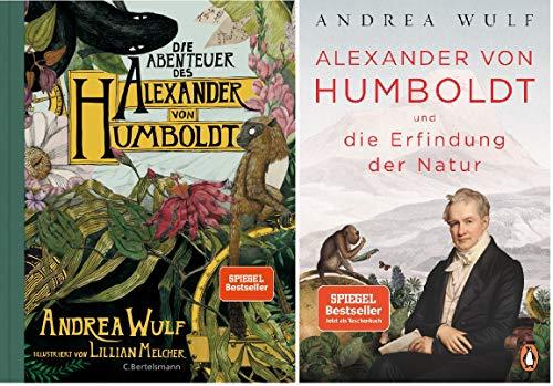 """Humboldt-Set: """"Die Abenteuer des Alexander von Humboldt"""" + """"Alexander von Humboldt und die Erfindung der Natur"""" (Taschenbuch)"""