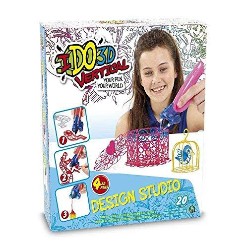 Ido 3D – Lot de 4 stylos (Giochi Preziosi DDD02000) Jolies créations Miscelanea