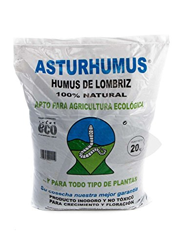 Humus de Lombriz Asturhumus 100% Ecológico - 20 kg