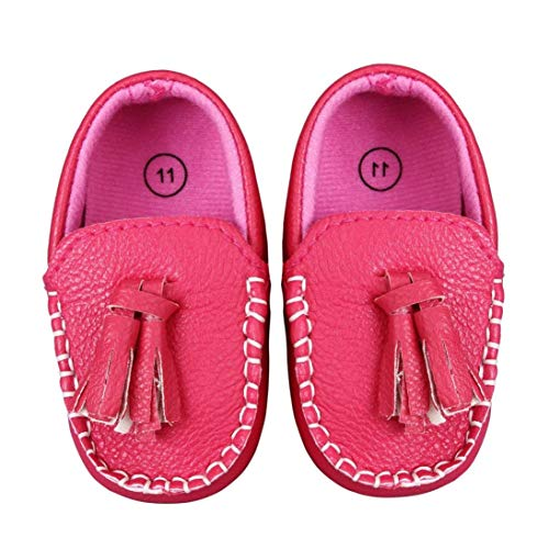 Voberry Toddler Infant Baby Girls Boys Autumn Tassels Soft Sole Penny Loafers Shoes Prewalker Moccasin