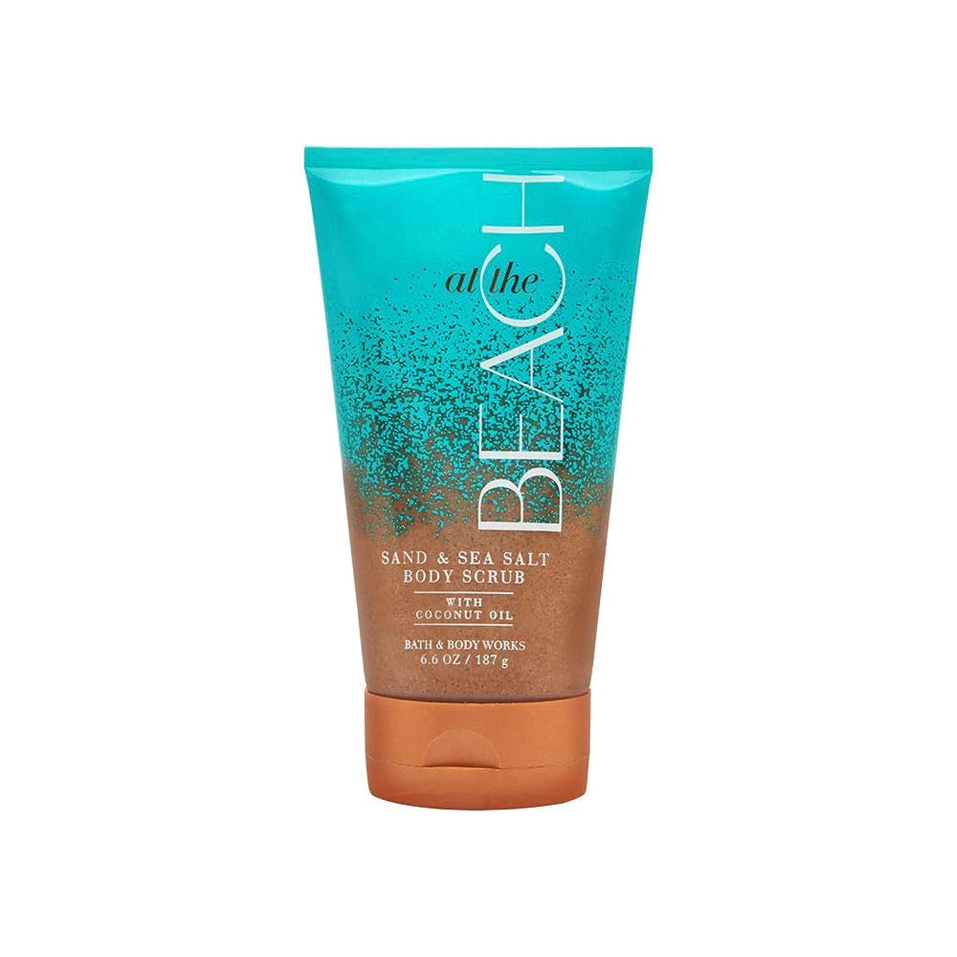 ランク予備タイヤ【Bath&Body Works/バス&ボディワークス】サンド&シーソルト スクラブ アットザビーチ Sand & Sea Salt Scrub At The Beach 8 oz / 226 g [並行輸入品]
