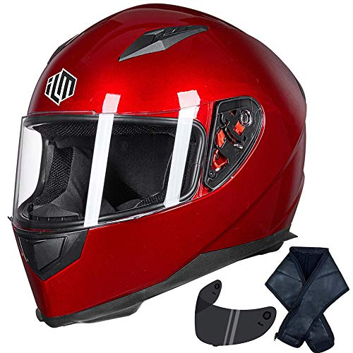 ILM JK313-RED-S Casque de vélo Red