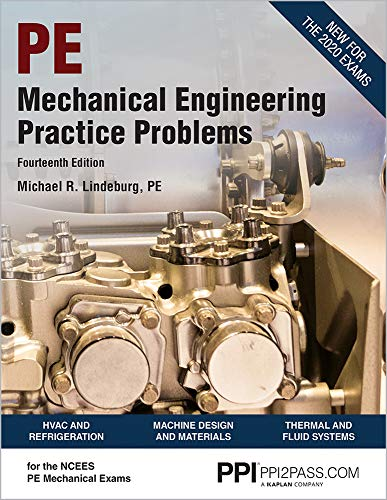 PPI Mechanical Engineering Practice Problems, 14th Edition (Paperback) – Comprehensive Practice Gu