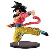 Banpresto 81328P Dragonball Súper Saiyan 4 Son Goku Especial, 21 Cm, Multicolor...