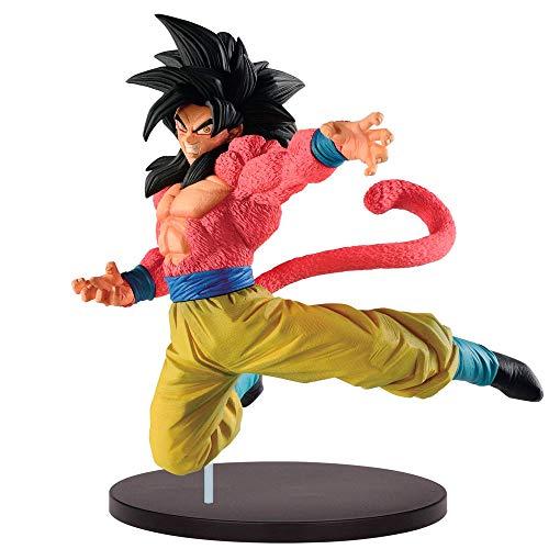 Banpresto-81328 Dragonball Súper Saiyan 4 Son Goku Especial, Multicolor, 21 Cm (81328P)