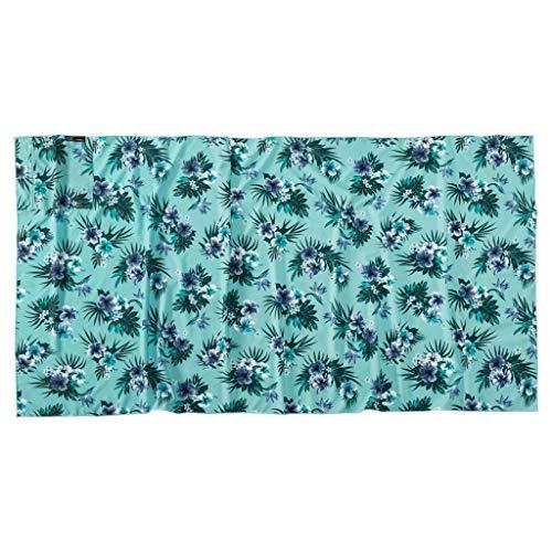 Jack Wolfskin Tropical Couverture d'écharpe Gants pour Temps Froid Adulte Unisexe, Aqua All Over, Taille Unique