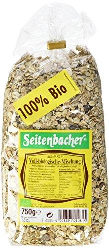 Seitenbacher Müsli voll-biologische Mischung, 6er Pack (6 x 750 g) - Bio