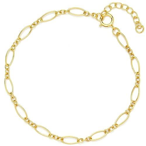 51d69b4c7572f 14k Yellow Gold Bracelets for Children: Amazon.com