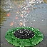 Generic Floating Bird Bath Solar Power Fountain Garden Water Panel Pump Kit Pool Pond Water Pump