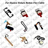 Lysee Mobile Phone Flex Cables - KiKiss Home Button Fingerprint Touch ID Sensor Connector Flex Cable For Huawei Mate 9 mate 9 pro mate 10 mate 10 Pro Replacement - (Color: mate 10 Pro Blue)