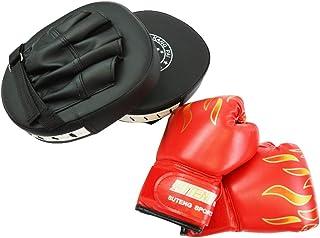 dinos 親子でボクシング グローブ(子供用)+ ミット(大人用)セット 頑丈