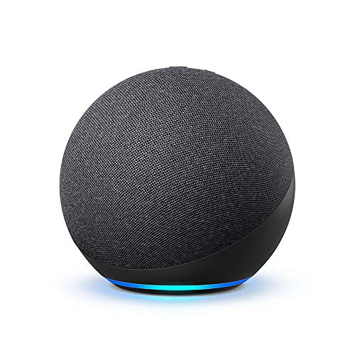 All-new Echo (4th Gen) | With premium sound, smart home hub, and Alexa | Charcoal (Electronics)
