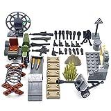 NURICH Kit Arme pour Mini Figurines de SWAT Police Soldats, Compatible avec Figurines Lego