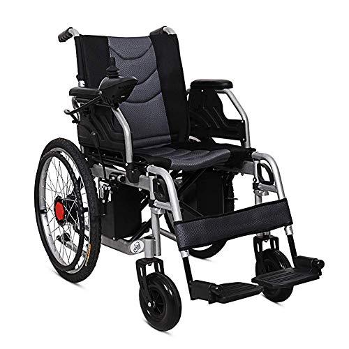Inicio Accesorios Ancianos Discapacitados Portátil Plegable Silla de ruedas de movilidad eléctrica de alta resistencia Silla eléctrica ligera Joystick de 360 grados Sillas de ruedas motoriza