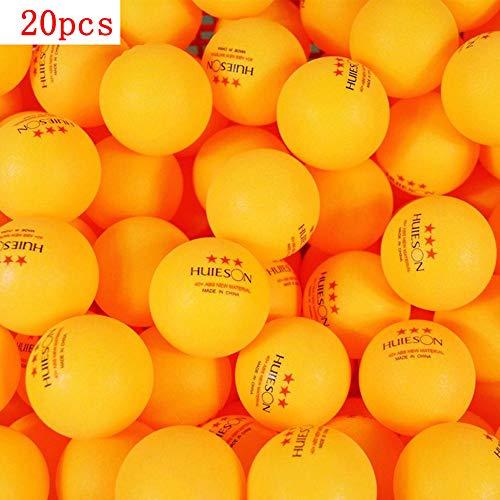 20/50/100 Piezas Bolas Ping-Pong plástico ABS avanzadas