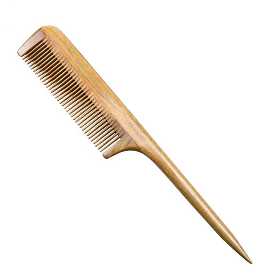Rat Tail Hair Comb Sandalwood