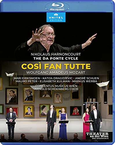 Mozart : COSI Fan Tutte. Eriksmoen, Dragojevic, Schuen, Peter, Kulman, Werba, Breisach, Harnoncourt