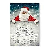 Klassische Weihnachtskarte (BABBO POSTER)