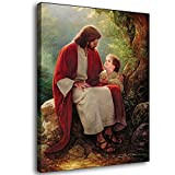 BOSHI Greg Olsen Religious Jesus Canvas Art Poster and Wall Art Picture Print Modern Family Bedroom Decor Posters