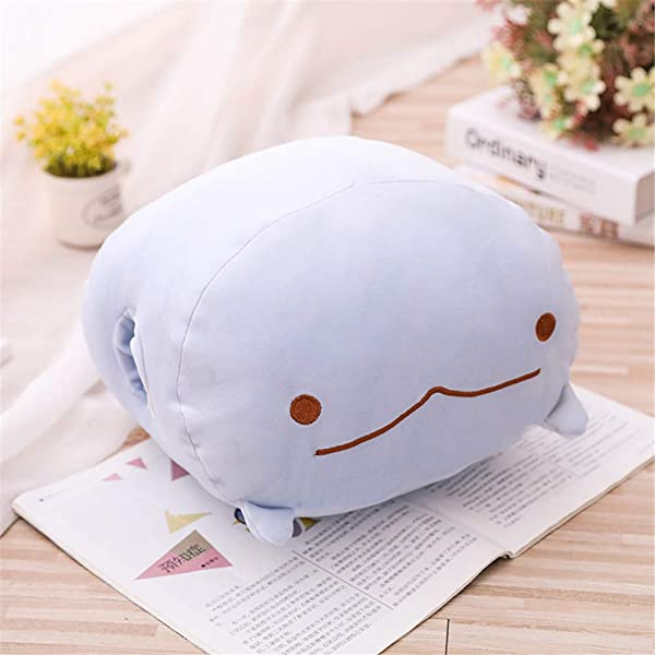 8 Pink Cute Dinosaur Soft Plush Toy Stuffed Animals Pillow With Hand Warm