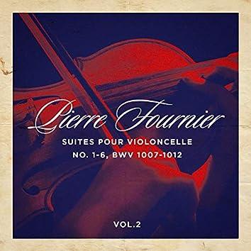 Suites pour violoncelle No. 1-6, BWV 1007-1012, Vol. 1