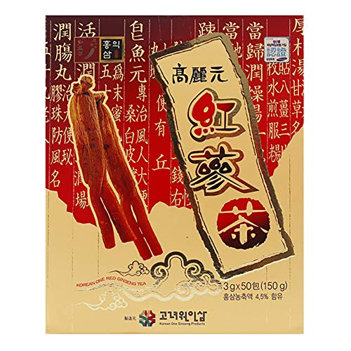 Korean Red Ginseng Granule Tea 3g (0.10oz) x 50 bags