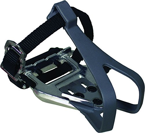 Altair 105 Type Silver/Black with toeclip and Strap Pedal