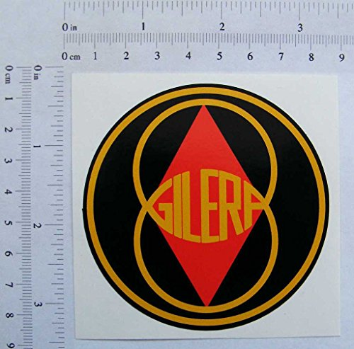 Gilera, Full Colour Sticker, 80mmx80mm, S197