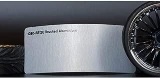 3M 1080 Brushed Aluminum Flex | BR120 | Vinyl CAR WRAP Film (Sample 2.5in x 4in)