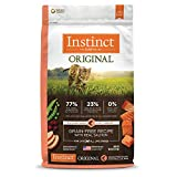 Instinct Original Grain Free Recipe with Real Salmon Natural Dry Cat Food by Nature's Variety, 10 lb. Bag