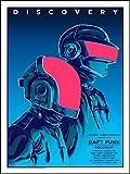 Go Awesome Daft Punk-Poster, Papierdruck, 40,6 x 63,5 cm,