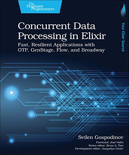Compare Textbook Prices for Concurrent Data Processing in Elixir: Fast, Resilient Applications with OTP, GenStage, Flow, and Broadway 1 Edition ISBN 9781680508192 by Gospodinov, Svilen