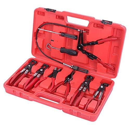 SISHUINIANHUA 9PCS Flexible Schlauchklemmen-Zangen-Werkzeug-Set für die meisten Automodelle