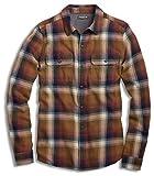Toad&Co Men's Indigo Flannel Long Sleeve Shirt