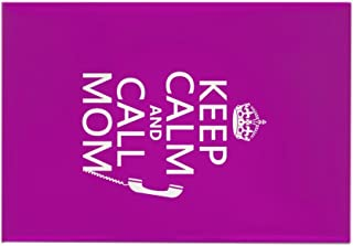 CafePress Keep Calm and Call Mom Rectangle Magnet Rectangle Magnet, 2