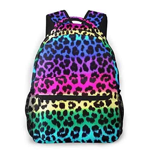 Lawenp Colorido Cheetah Leopard Travel Laptop Mochila Business Anti Theft Slim Durable Laptop Mochila Resistente al Agua College School Computer Bag para Mujeres y Hombres Se Adapta a portátiles de
