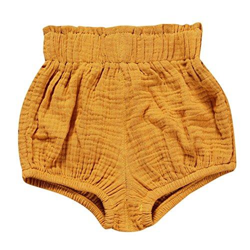 Brightup Bébé Fille garçons Unisexe Shorts de Bloomer En coton Couverture basique de couche-culotte