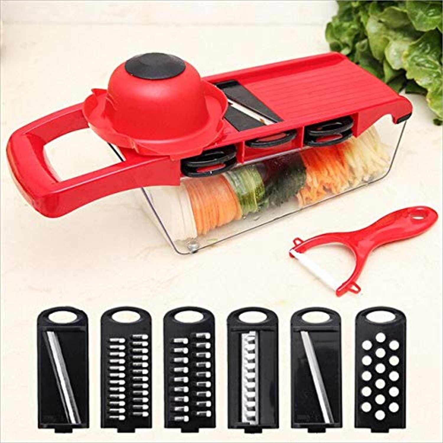Multi-funtional Grater Vegetable Utter Food ontainer hredder lr AU
