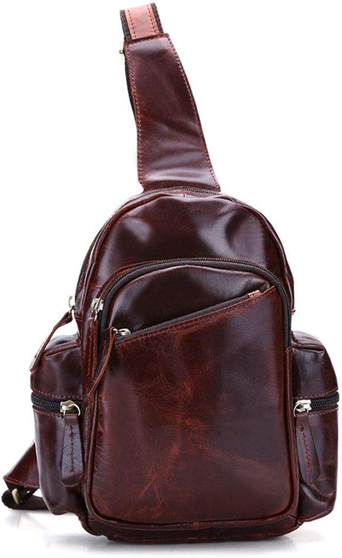 Sling Bag Chest Shoulder Unbalance Gym Backpack Sack Outdoor Bike Satchel,red,26cm18cm7cm