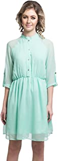 Uptownie Lite Women's Crepe 3/4 Sleeve Dress