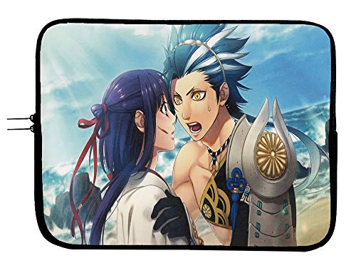 Kamigami No Asobi Manga Laptop Sleeve Bag - 13 Inch Laptop & Tablet Sleeve Bag Case - Protect Your Notebook Mac Book Pro MacBook Air iPad or Windows Devices in Style!