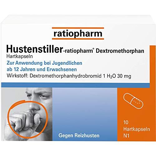 Hustenstiller-ratiopharm Dextromethorphan Hartkapseln, 10 St. Kapseln