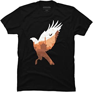 Synchronize Men's Black Graphic T Shirt-Design By Humans