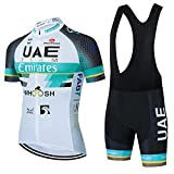 Maillots De Ciclismo Hombres Camiseta Y Pantalones Cortos De Ciclismo Conjunto De Ropa para Ciclismo Al Aire Libre (A-3,XS)