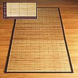 Acan La Bolata - Alfombra pasillera de bambú de 67x250 cm, Ideal para hogar o Trabajo. Moqueta de bambú para Cocina, Pasillo,Dormitorio.Alfombra de bambú para Interior o Exterior.