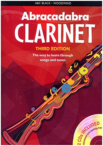 Abracadabra Música Libro para clarinet. with 2C D.S