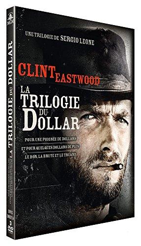 Sergio Leone : La trilogie du dollar : Pour une poignée de dollars + Et pour quelques dollars de plus + Le bon, la brute et le truand [Francia] [DVD]